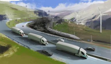 160502_AV Truck Platoon